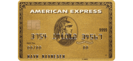 Les 1 omtale om American Express Gold Card