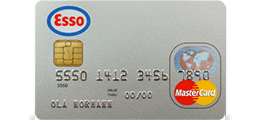 Les 1 omtale om Esso MasterCard